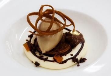 Dessert at Manoir Aux Quat Saisons