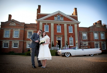 Wedding-Warbrook House Hampshire-Couple
