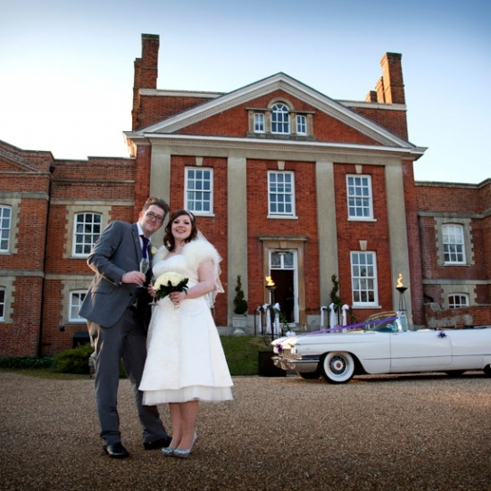 Wedding-Warbrook House Hampshire-Couple