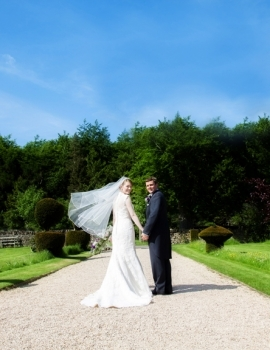 Wedding-New Barn Farm Ditchley Park Oxon-Couple