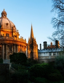 Bodleian Library at Sunset