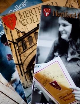 Hertford College News