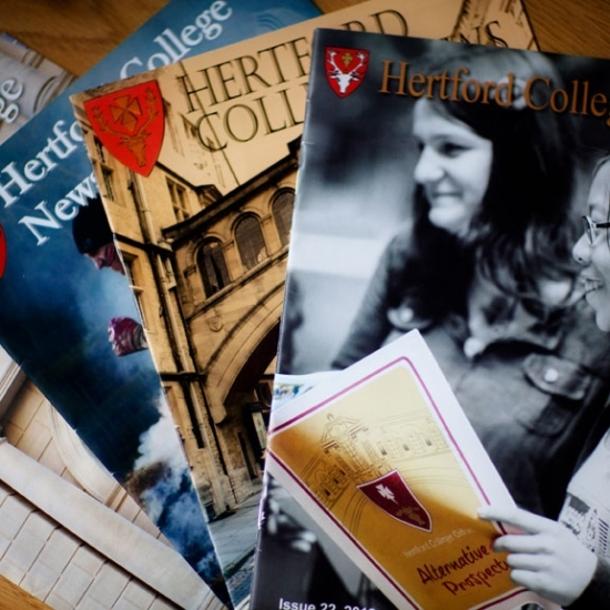Hertford College News