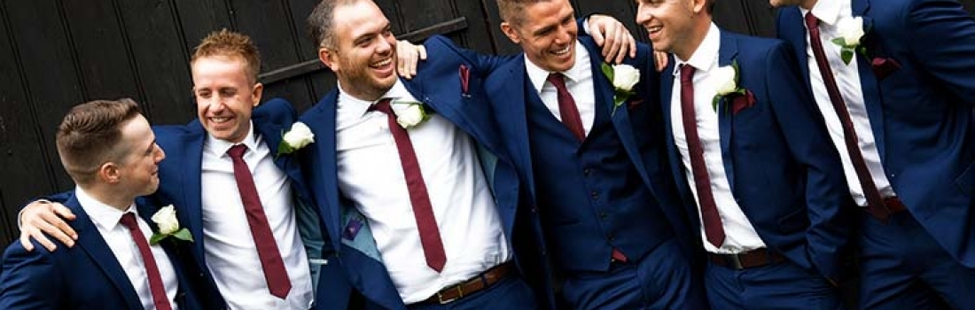 Weddings: Groom and best men