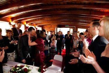 Weddings: Couple Embracing