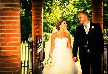 Weddings: Married Couple Outdoors