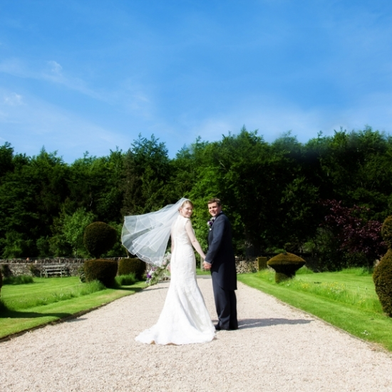 Wedding-New Barn Farm Ditchley Park Oxon-Couple